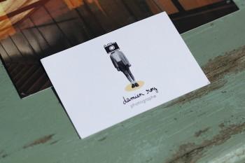 Logo / identité visuelle d'un jeune photographe
